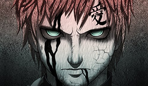 Naruto Gaara PLAYMAT CUSTOM PLAY MAT ANIME PLAYMAT #177 (Naruto Card Sleeves)