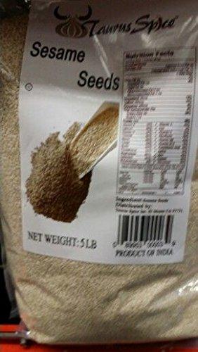 Taurus Spice Sesame Seeds 5 Lb