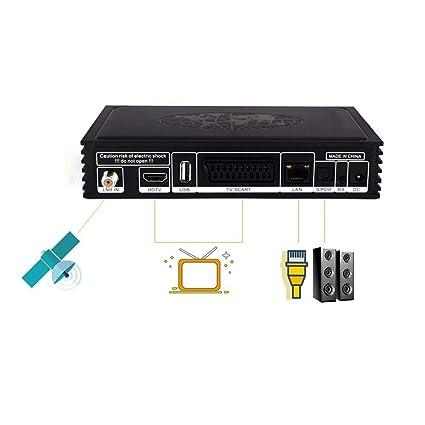 Amazon com: Volwco Satellite Finder, HD 1080P DVB-S2 IPTV