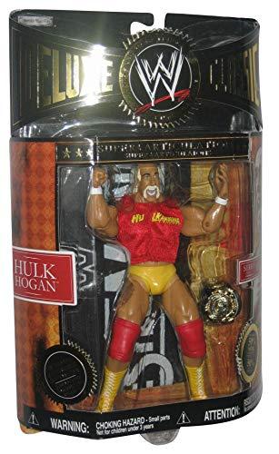 Jakks Pacific WWE Deluxe Classic Hulk Hogan Series 01 WWF Wresting Figure w/ Belt