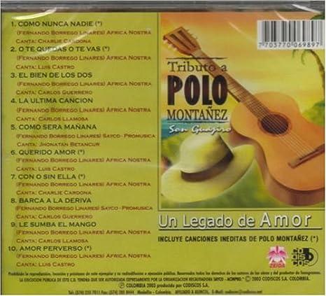 Tributo a Polo Montanez: Tributo a Polo Montanez: Amazon.es: Música