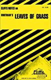 Leaves of Grass, Cliffs Notes Staff, 0822007231