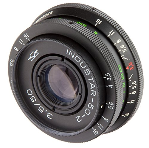 Industar 50-2 50mm F3.5 Russian Lens for M42 mount cameras for Canon EOS