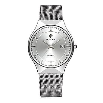 Relojes de pulsera Hombre extraplano con función de calendario de ...