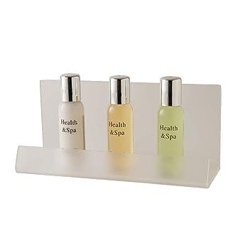 cb572 baño presentación bandeja, translúcido (Pack de 2): Amazon ...