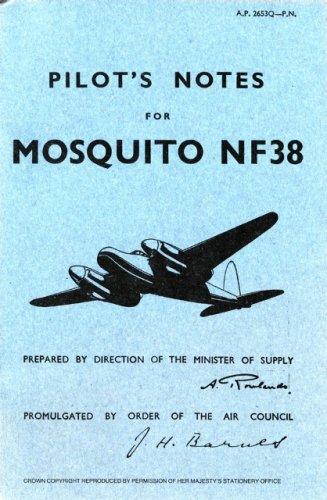 De Havilland Mosquito 38 -Pilot's Notes - OP (Pilot's Notes Collection) ebook