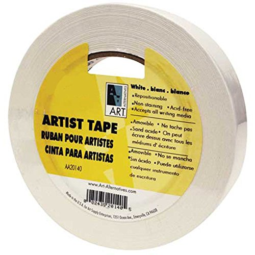 Economy White Artists Tape 2In X 60Yds
