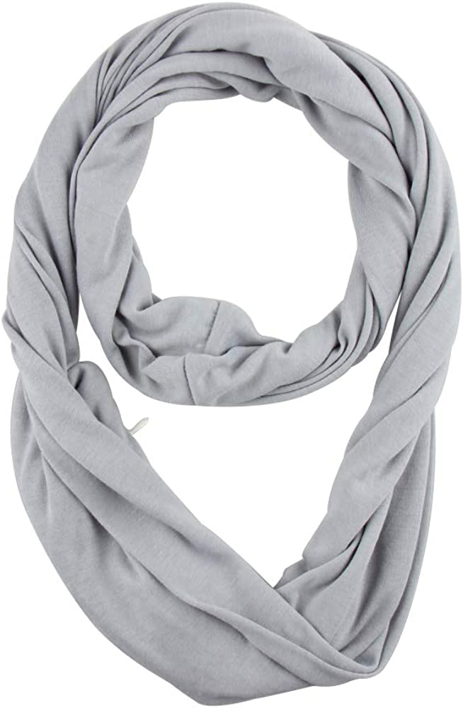 Infinity Scarf With Hidden...