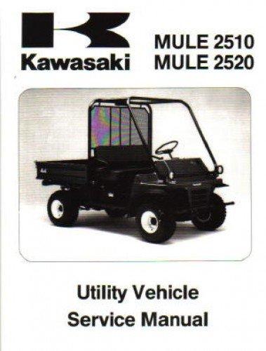 99924-1163-03 1993-2003 Kawasaki KAF620 MULE 2510 MULE 2520 Service Repair Manual