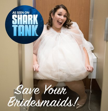 b13893368b Bridal Buddy-The Original- easily holds your gown so you can use the  bathroom alone- As Seen on Shark Tank