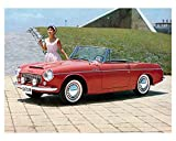 1962 Datsun Fairlady 1500 Roadster SPL310 Automobile Photo Poster
