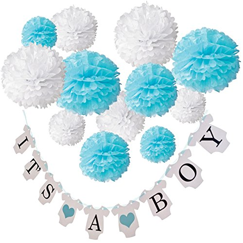 baby shower boy decorations - 3