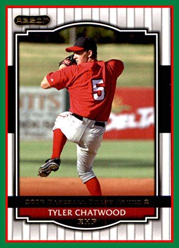 2008 Minor League Razor Signature Series #64 Tyler Chatwood ANAHEIM LOS ANGELES CALIFORNIA ANGELS