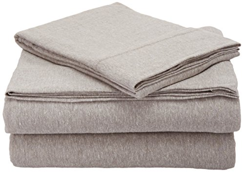 Room Essentials Room Essentials Jersey Sheet Set,Twin( X-Large), Gray