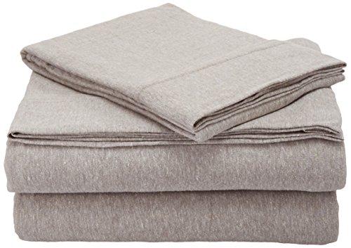 Room Essentials Room Essentials Jersey Sheet Set,Twin( X-Large), Gray