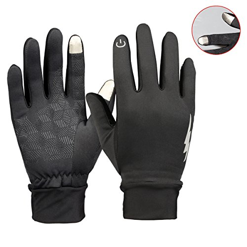 Winter Gloves - YooNow Touch Screen Gloves Windproof Thermal Anti-Slip Work Gloves Warm Driving Gloves Running Cycling Gloves Outdoor Indoor Sport Gloves for Men and Women
