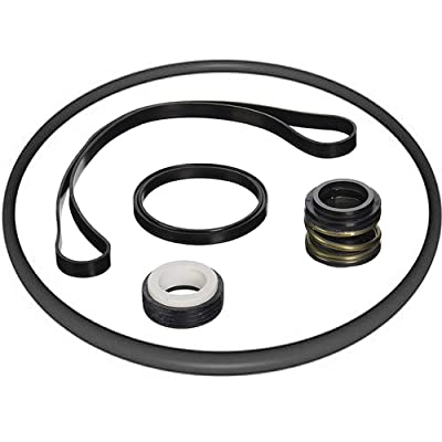 Tiki Island Pool Express Compatible with Super Pump II, RS Series, Leslie's Hydromax II Pool Pump Shaft Seal O-Ring Kit: Garden & Outdoor