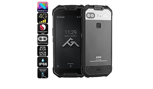 AGM X2 Rugged Phone Android 7.1 Octa-Core CPU 6GB RAM IP68 1080p ...