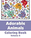 Adorable Animals Coloring Book, Various, 1494258811