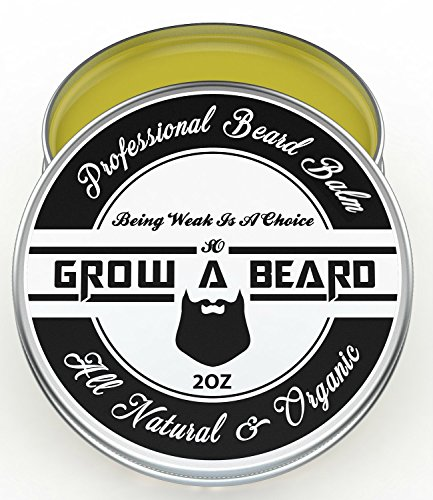 Beard Balm   Leave-in Conditioner & Softener For Men Care   Best Facial Hair & Mustache Grooming Wax   Great for Smooth & Moisturize   Natural & - Men For Styles Best Facial Hair