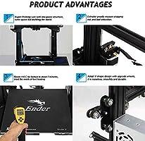 Bloc Chauffant en Aluminium pour imprimante 3D Ender-3 Cod 20 x 20 x 10