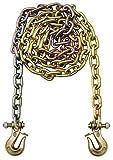 B/A Products G7-1215TL Twist Lock Grabs, 1/2 Grade 70 Chain x 15', WLL 11,300 lb., 4 Height, 6.75 Width, 17 Length