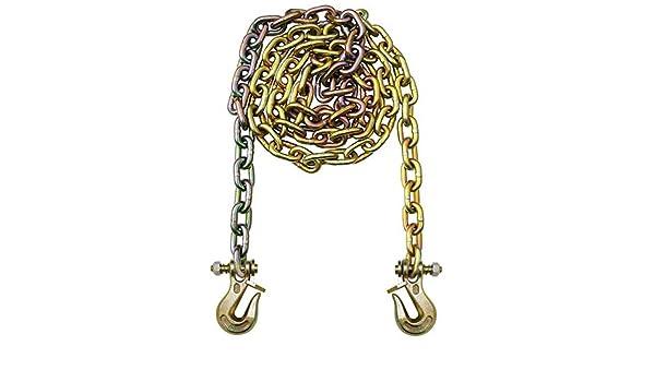 WLL 15,800 lb 8 Width B//A Products G7-5810TL Twist Lock Grabs 8 Height 16 Length 5//8 Grade 70 Chain x 10