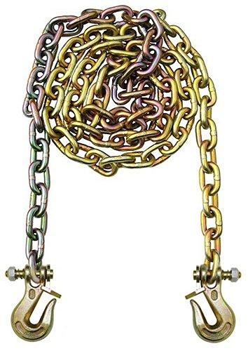 B/A Products G7-51610TL Twist Lock Grabs, 5/16 Grade 70 Chain x 10', WLL 4,700 lb., 7.4 Height, 4.59 Width, 17.3 Length
