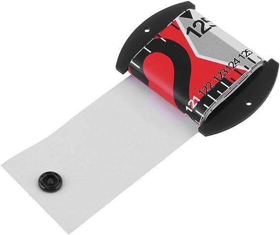 Weiß Angelwaage PVC Wasserdicht Fischmaßband Messwerkzeug 1 Versenkbar