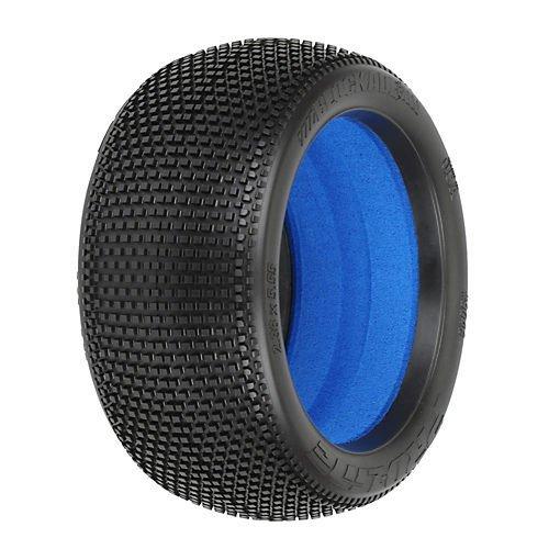 proline-9046033-blockade-40-x3-soft-off-road-18-truck-tires-mounted-on-zero-offset-vtr-wheels-white
