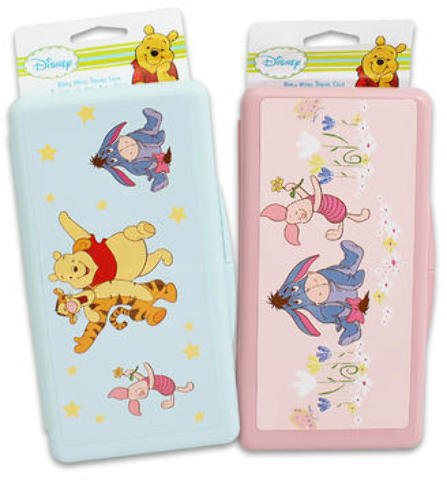 Disney Pooh and Friends Baby Wipe Holder Assorted 144 pcs sku# 1780624MA by DDI