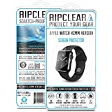 RIPCLEAR Apple Watch 42mm Smartwatch Screen Protector Kit - Scratch-Resistant, All-Weather Protection, Crystal Clear - 2-Pack