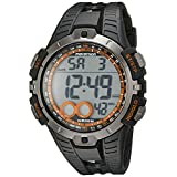 Marathon by Timex Men's T5K801 Digital Full-Size Black/Orange Resin Strap Watch