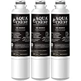 AQUACREST NSF 401 Replacement da29-00020b Certified to Reduce 99% of Lead, Pharmaceuticals and More, Compatible with Samsung DA29-00020B, HAF-CIN/EXP Replacement Refrigerator Water Filter (Pack of 3)
