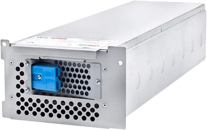 This is an AJC Brand Replacement APC Smart-UPS 2200 SU2200RMXLI 12V 18Ah UPS Battery
