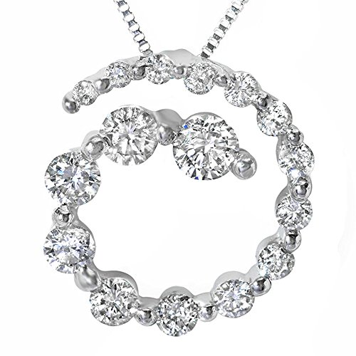 0.75 Ct Diamond Pendant - 3