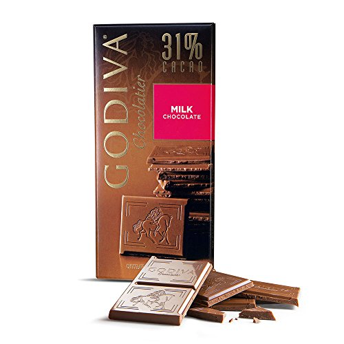 031290094141 - Godiva Milk Chocolate Bar, 3.5-Ounces (Pack of 5) carousel main 4