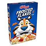 Kellogg's Breakfast Cereal, Frosted Flakes, Fat-Free, 10.5 oz Box