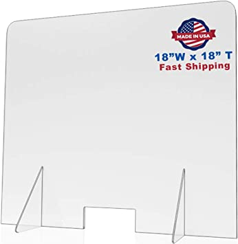 Plastic Divider,Protection Shield SNEEZE GUARD,Retail Counter Mask Shield