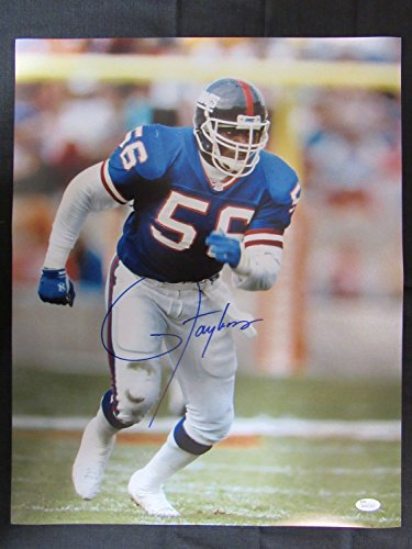 Lawrence Taylor Signed Auto Autograph 16x20 Photo JSA IV (Signed Taylor Autograph)