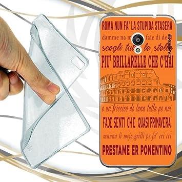 CUSTODIA COVER CASE CORO ROMA PER VODAFONE SMART TURBO 7