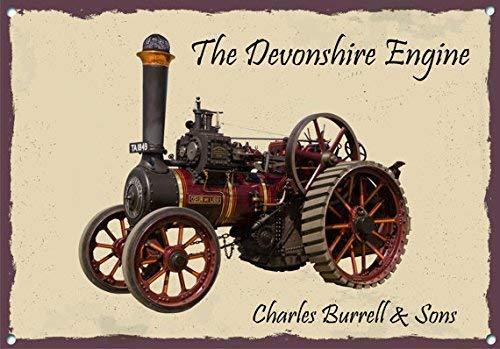 NNBT Charles Burrell The Devonshire Steam Engine for Outdoor & Indoor 12