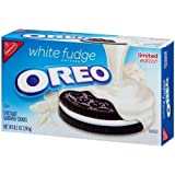 2 Boxes White Fudge Covered Oreo Cookies (8.5 oz)