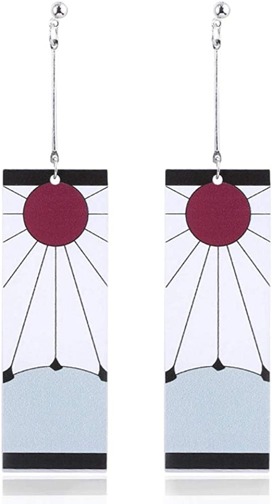 Kamado Tanjirou's 2 Earrings from Demon Slayer