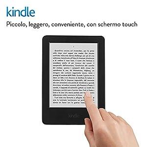 """E-reader Kindle, schermo touch da 6"""" (15,2 cm) anti riflesso, Wi-Fi - Con offerte speciali (Generazione precedente -7ª)"""
