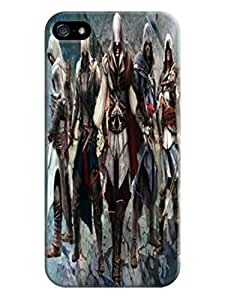 Unique cartoon design tpu hard back cover case for iphone5(Assassin's Creed)by Kathleen Kaparski