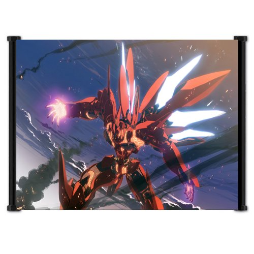 Xenogears Game Fabric Wall Scroll Poster  Inches
