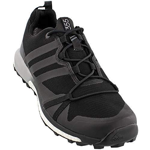 Adidas Mens Terrex Agravic GTX Trail Running Shoes Black/Black/White - 10
