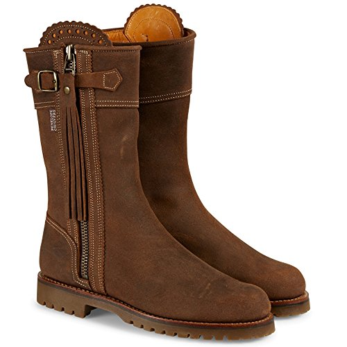 Penelope Chilvers Midcalf Gaucho Tassel Boots, Nut
