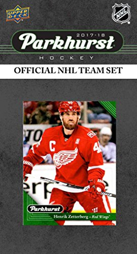 Upper Deck Detroit Red Wings - Detroit Red Wings 2017 2018 Upper Deck PARKHURST Series Factory Sealed Team Set including Henrik Zetterberg, Jim Howard, Evgeny Svechnikov Rookie plus